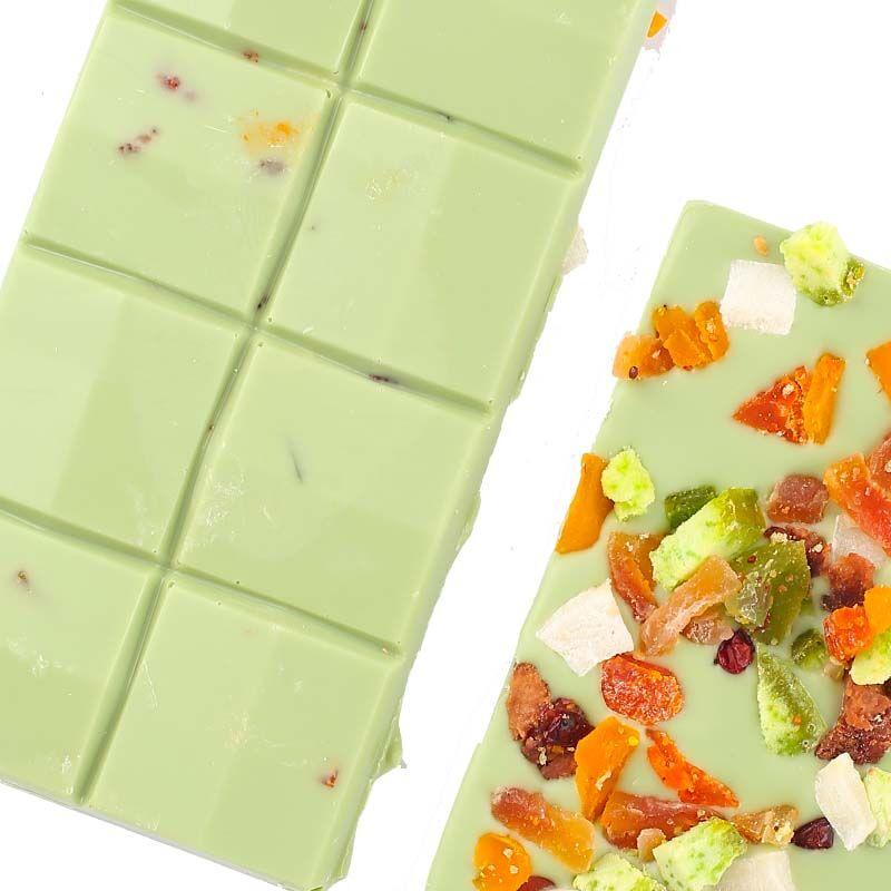 Meyveli Limonlu Tablet Çikolata 110g - Thumbnail