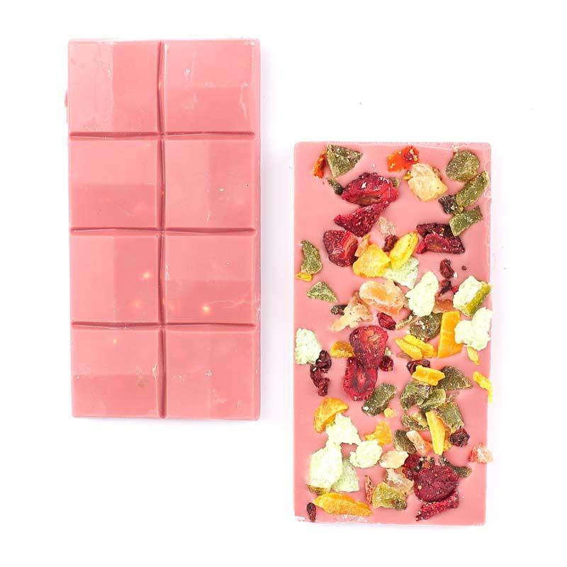 Meyveli Pembe Ruby Tablet Çikolata 110g