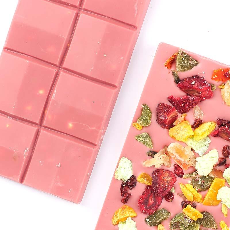 Meyveli Pembe Ruby Beyoğlu Çikolatası