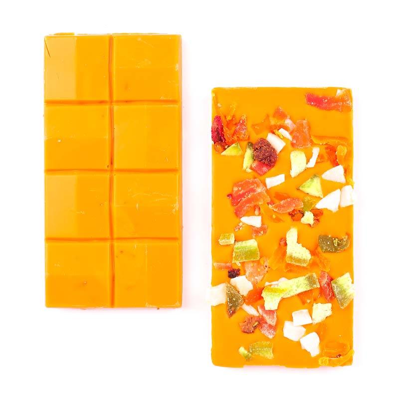 Meyveli Portakallı Tablet Çikolata 110g