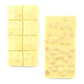 Fındıklı Beyaz Tablet Çikolata 110g - Thumbnail