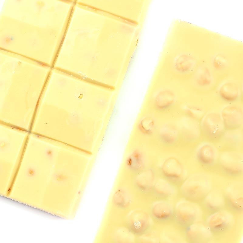 Fındıklı Beyaz Tablet Çikolata 110g