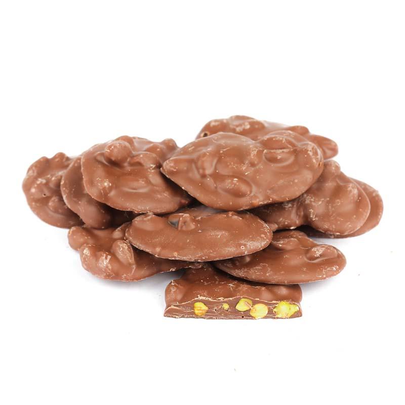 Antep Fıstıklı Roş Sütlü Çikolatalı