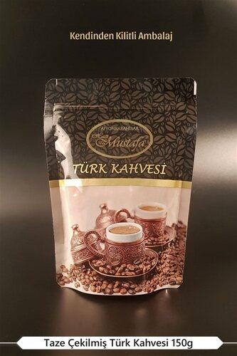 Hacı Mustafa Han - Türk Kahvesi 150g - Kilitli Paket
